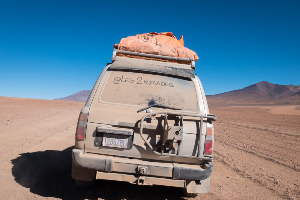 Offroad in Bolivia